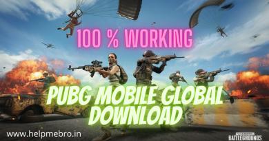 PUBG Mobile Global Download
