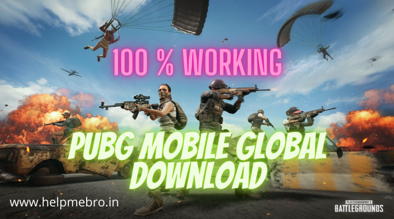 PUBG Mobile Global Download