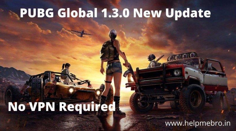 PUBG Mobile 1.3.0 Update